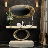 CII.10 Console Table and mirror